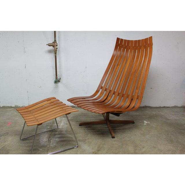 Hans Brattrud Scandia Lounge Chair Ottoman Chairish