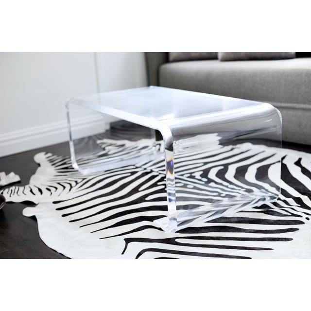 Plexi-Craft Waterfall Coffee Table - Image 4 of 5