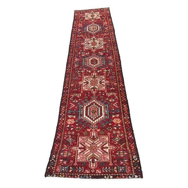"""Vintage Karajeh Persian Runner Rug - 2'4"""" X 8'11"""" - Image 1 of 9"""