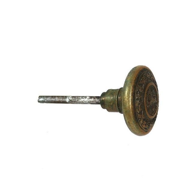 Image of 1880s Copper Victorian Lion Doorknob