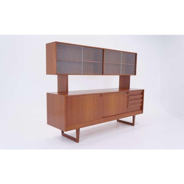 Kurt Ostervig Two Piece Storage Cabinet, Room Divider, or Credenza - Image 2 of 5