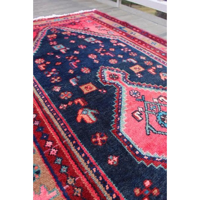 "Image of Vintage Persian Runner - 3'3""x12'3"""