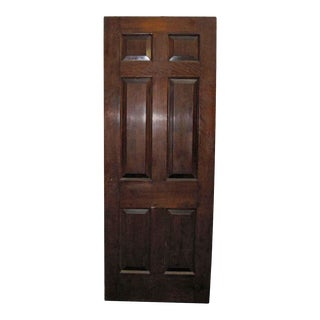 Raised Panel Mahogany Door