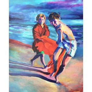 "Kandi Cota ""Beach Play"" Limited Edition Canvas Print"