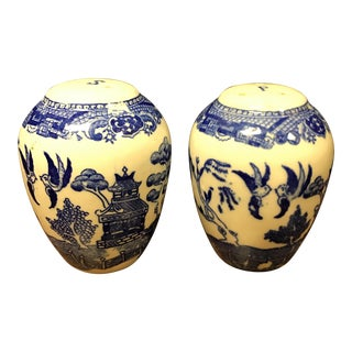 Blue Willow Salt & Pepper Shakers