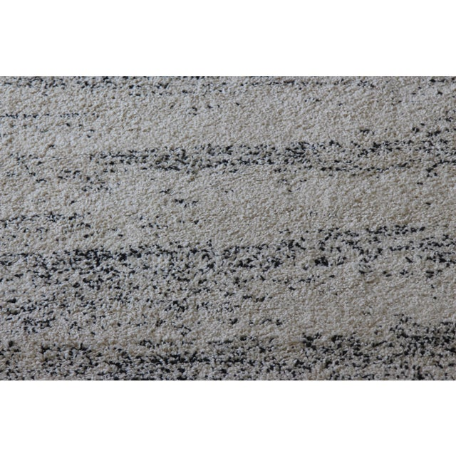Distressed Ivory Shag Rug - 8' x 11' - Image 5 of 7