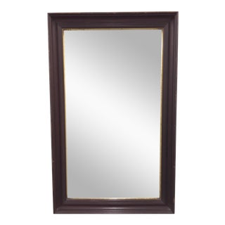 Antique Mahogany & Giltwood Mirror