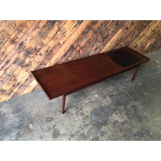 """Mid-Century Refinished """"Surfboard"""" Coffee Table - Image 4 of 5"""