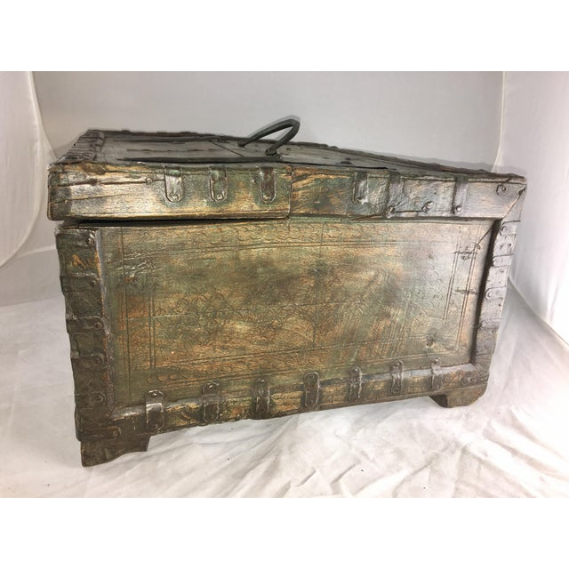 19 Century Oriental Cashbox - Image 4 of 10