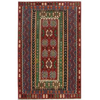 Vintage Turkish Kilim | 4' x 6'2 Flatweave
