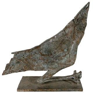 Mid-Century Modern Bird Sculpture