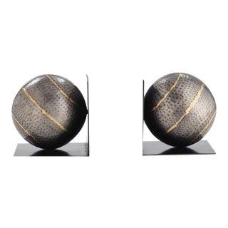 Arteriors Gauge Sphere Bookends - A Pair