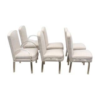 Mid-Century Lucite Dining Chairs - Set of 6