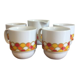 Georges Briard Carousel Coffee Set