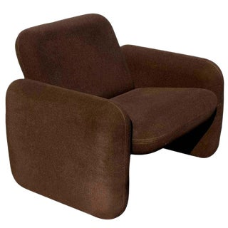 1 Brown Herman Miller Chiclet Lounge Chair