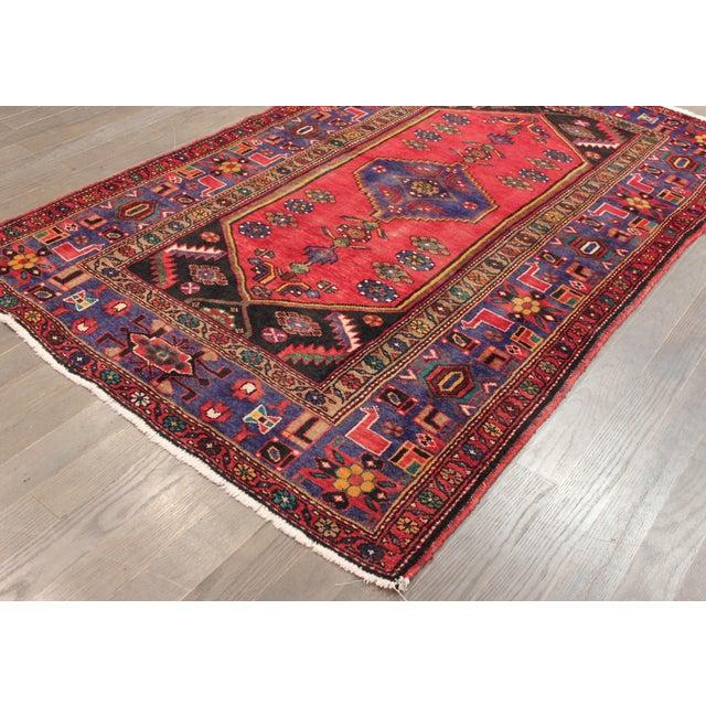 "Apadana Persian Scatter Rug, 4'3"" X 6'10"" - Image 5 of 5"