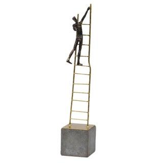 """Ladder to the Stars"" Metal Modern Art"