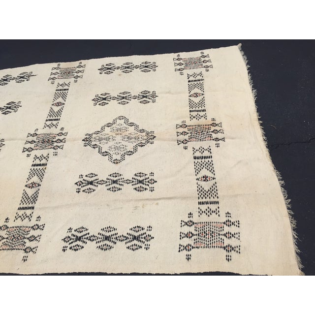 Vintage Native American Rare Blanket Hand Woven - Image 10 of 11