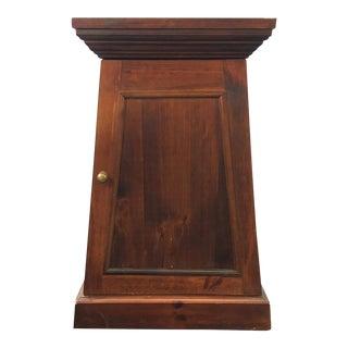 Mid-Century Modern Wood End Table