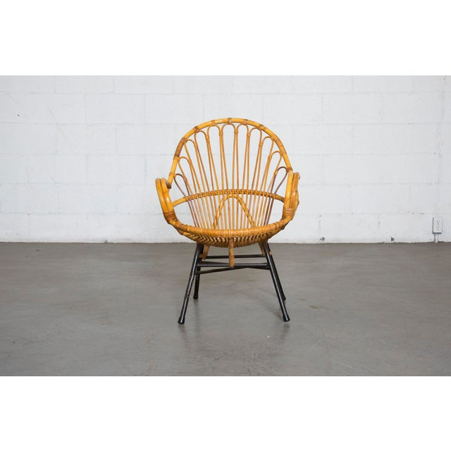 Rohe Noordwolde Bamboo Hoop Chair With Arms - Image 2 of 10