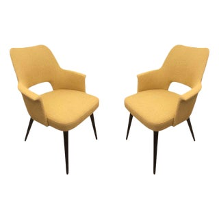 Pair of Mid-Century Accent or Desk Chairs