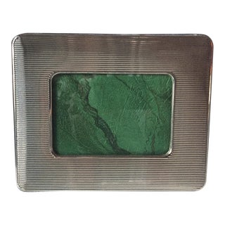 "Italian Sterling Silver Frame-8""x7"""