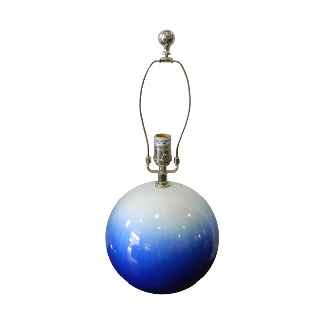Blue & White Catalina Table Lamp - Image 1 of 5