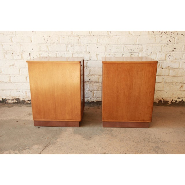 Edward Wormley for Dunbar Mid-Century Nightstands - a Pair - Image 10 of 11