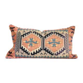 Peach Turkish Kilim Cushion