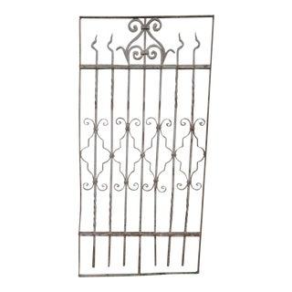 Antique Victorian Iron Gate Window Garden Fence Architectural Salvage #835