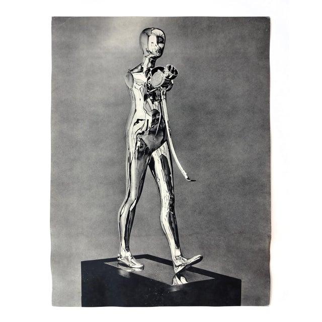 "Image of Ernest Trova ""Walking Man"" Poster, C. 1970"