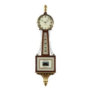 Mahogany Patent Banjo Clock Timepiece