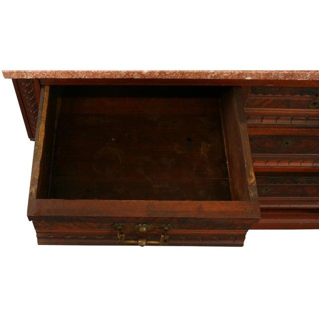 Antique Eastlake Vanity Dressing Table, 1890 - Image 8 of 8