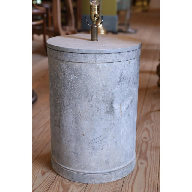Incredible GALVANIZED BARREL SHAPED EUROPEAN ONE OF A KIND ...