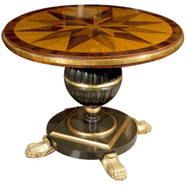 19th-Century Continental Center Table - Image 1 of 6