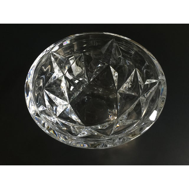 Tiffany Cut Crystal Bowl - Image 3 of 4