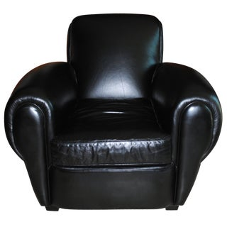 Mitchell Gold + Bob Williams Leather Club Chair