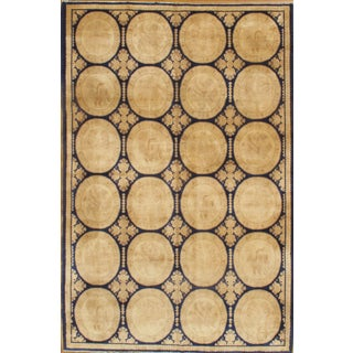 Pasargad Spanish Hand-Knotted Rug - 6′ × 9′