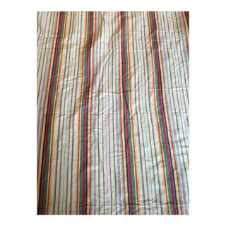 "Ralph Lauren ""Didier Stripe"" Cotton Linen Fabric - 7.5 Yards in 2 Pieces"