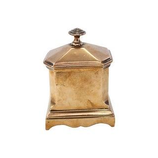 English Georgian Bronze Tea Box