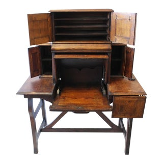 Rare Antique American Industrial Mechanical Desk