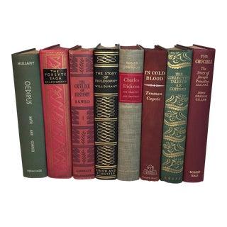 Vintage Classics Display Books - Set of 8