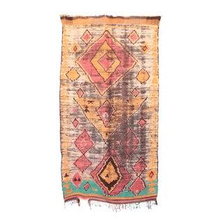 """Vintage Boujad Moroccan Rug - 5'1"""" x 9'1"""""""