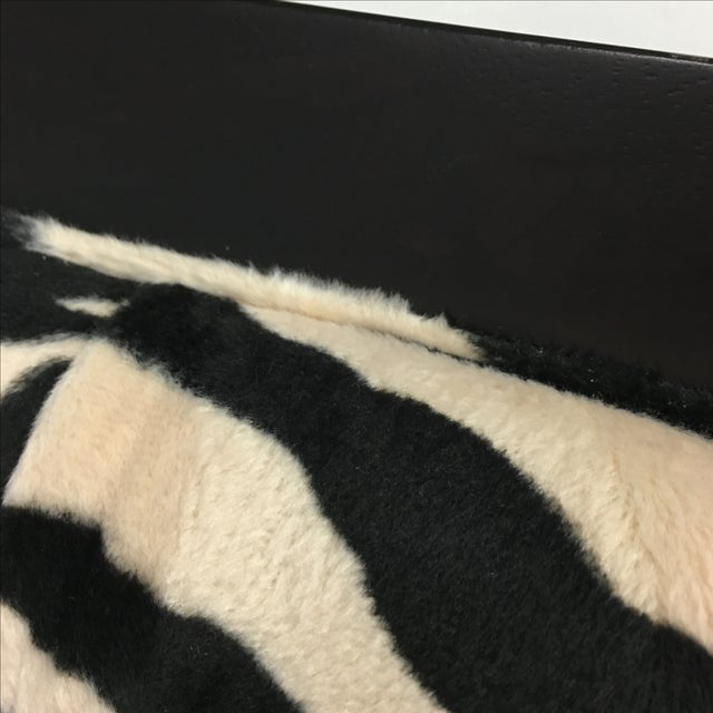 Zebra Print Miley Chair - Image 8 of 10