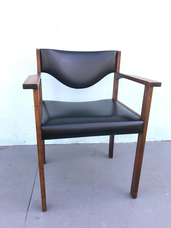 Mid Century Harter Lübke Arm Chair   Image 2 Of 11