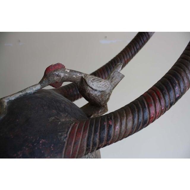 McGuire Ivory Coast Senofu Spider Helmet Mask - Image 5 of 7