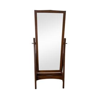Stickley Mission Oak Cheval Mirror