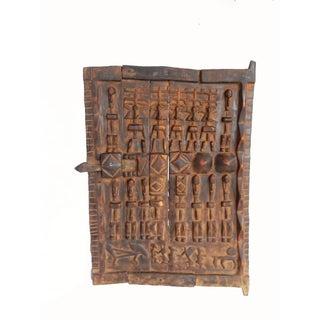 African Dogon Granary Door