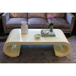 Image of Soft Yellow Coffee Table