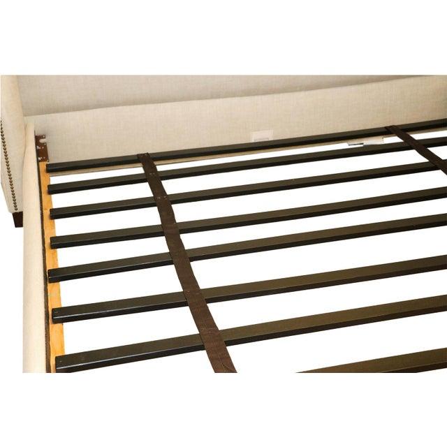 Restoration Hardware Warner Fabric King Bed - Image 3 of 10
